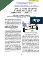 Power Flow Monitor of Motor