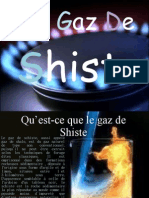 Le Gaz de Shiste