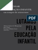 Ebook Para Pensar a Educação Infantil - Lutamos.pdf