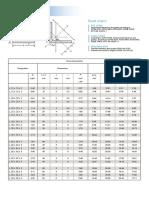 L Section Equal-Leg-Angles Data Sheet