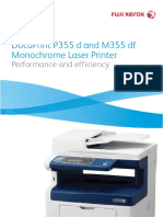 Product Brochure DocuPrint P355 M355