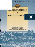 Introduction a La Geotechnique