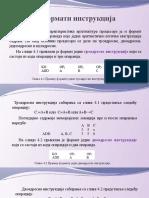 4.Formati instrukcija