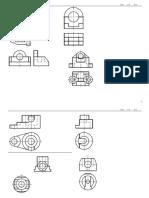 机械制图组合体补充作业