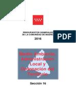 2016 Libro 09 Seccion 16 Medio Ambiente