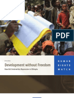 development without freedom