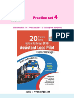 Disha Publication Indian Railway ALP Stage 1 Practice Set 2