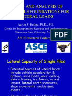 Design and Analysis Lateral Load