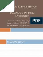 0 19461 DD Nyeri Lutut