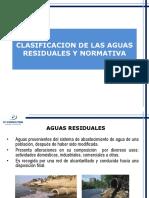 Clasificacion de Las Aguas Residuales y Normativa