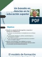 PPT01 Formación Basada en Competencias Dr. Gonzales