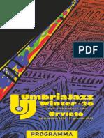 Umbria Jazz Winter#26 a Orvieto il programma giorno per giorno