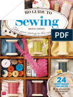 Pro Guide to Sewing