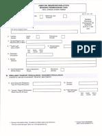 Malaysia Visa App Form