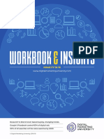 Digital Marketing University - Workbook Actionable Insights 2018-19