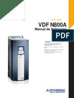 VDF Hyundai Serie N800A Manual de Aplicación ES