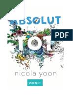 Yoon, Nicola - Absolut Tot v1.0