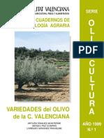 Variedades Del Olivo de La Comunidad Valenciana