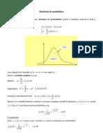 Distributie de Probabilitate Aplicatie Normala (Curs 1)