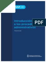 Introducción a los Procedimientos Administrativos del Estado Nacional
