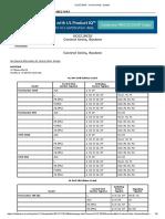NFS2-640 UL Certificate