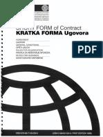Kratka Forma Ugovora