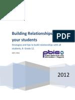 Teacher Behavior Lesson Building Relationships Book