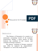 Final Balance of Payments