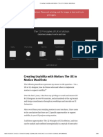 Creating Usability With Motion_ the UX in Motion Manifesto