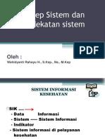 Konsep Sistem Dan Pendekatan Sistem