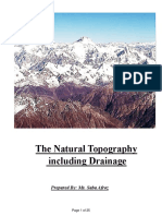 Natural Topography of Pakistan