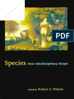 Wilson, R. a._species - New Interdisciplinary Essays