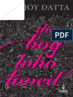 the Boy Who Loved - Durjoy Datta