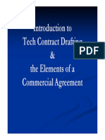 Elements of a Commercial Agreement