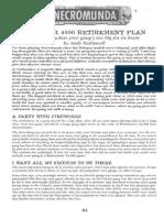 Necromunda The Over 4,000 Retirement Plan