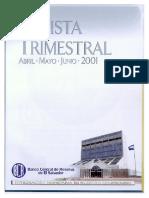 Revista Trimestral - Junio 2001