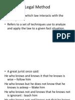 Legal Method [Autosaved] (1).pptx