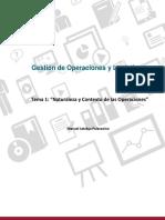 Tema 1_gestion de Operaciones y Logistica_naturaleza y Contexto de Las Operaciones