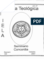 Pastoral integral e integradoras - Revista concordia