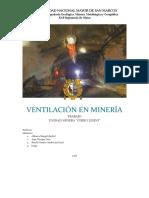 Ventilación Cerro Lindo 2018