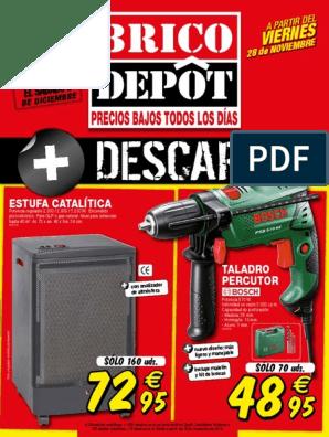 Brico Depot Catálogo Diciembre Viana Perforar Materiales