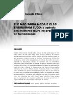 Fernando Fileno - Ele Não Sabia Nada e Elas Ensinaram Tudo