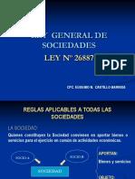 Ley General de Sociedades (1)