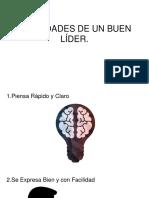 HABILIDADES DE UN BUEN LÍDER Mauricio .