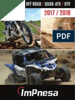 Catalogo Mx Atv Impnesa 2017 18
