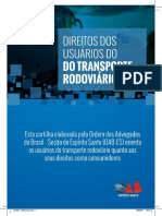 Cartilha Transporte Rodoviario