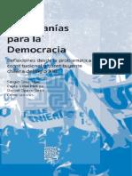 Ciudadanías para la democracia. Reflexiones desde la problemática constitucional y constituyente chilena del siglo XXI