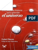 Reeves Hubert. Una Pequeña Historia Para Entender El Universo.
