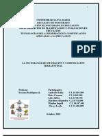 Tecnológia de la Información y la Comunicación (Trabajo Final)