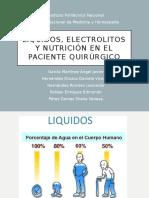 Presentación  de liquidos y electrolitos
